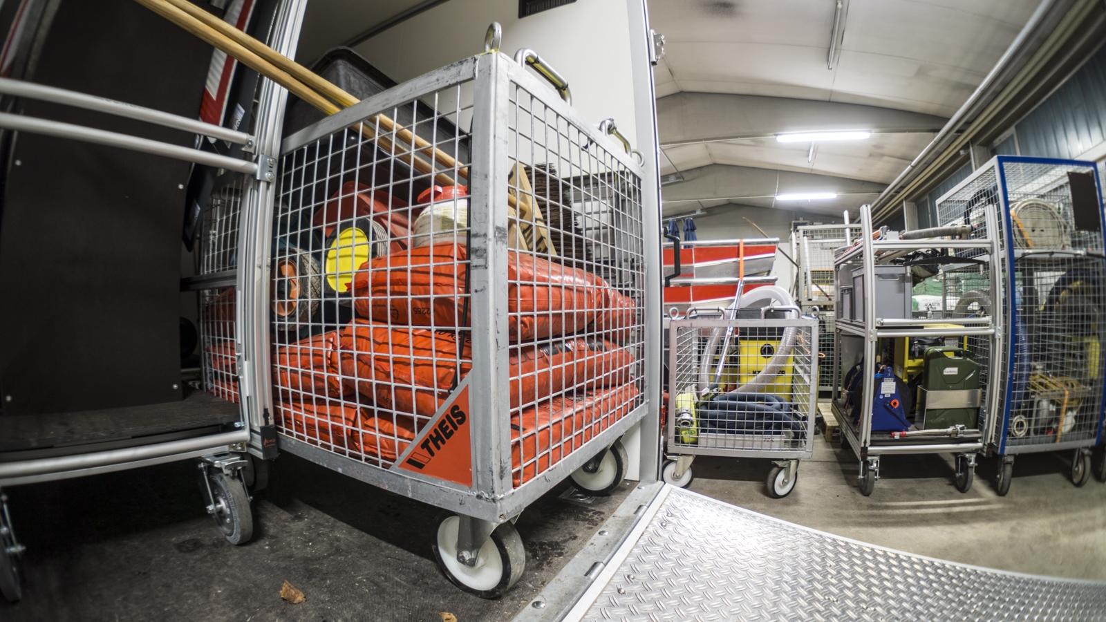 Rollwagen Ölspur | RW Öl